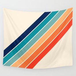 Karanda - 70s Style Classic Retro Stripes Wall Tapestry
