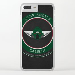 Dark Angels Style Clear iPhone Case