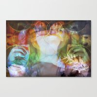 almost famous Canvas Prints featuring Almost Famous by skela