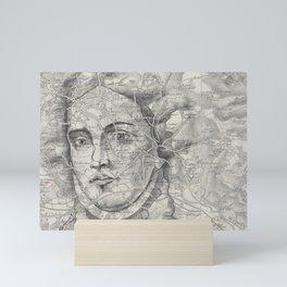 A Lady of Great Renown Mini Art Print