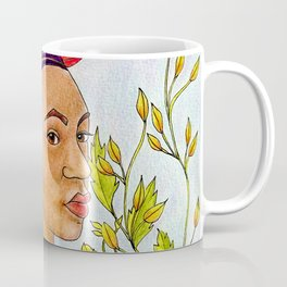 Portrait of Queen Calafia Coffee Mug