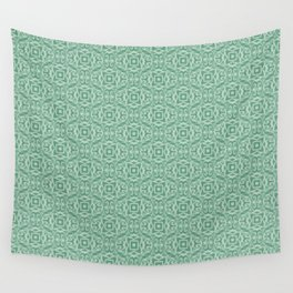 Baroque inspired green Wall Tapestry
