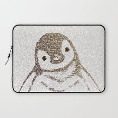 The Little Intellectual Penguin Laptop Sleeve