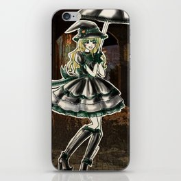 Draco Slytherin Halloween Witch iPhone Skin