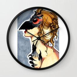 Corvidae Wall Clock