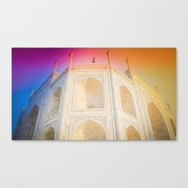 Morning Light at Taj Mahal Canvas Print