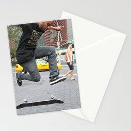 Unknown Faces In Different Places (Pt 8 - NYC, NY) Stationery Cards