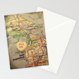 Kiss Me San Francisco Stationery Cards