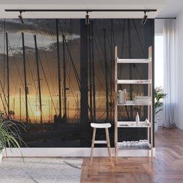 Marina sunset - Greece - Landscape and Rural Art Photorgaphy Wall Mural