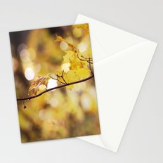 Amber Droplets Stationery Cards