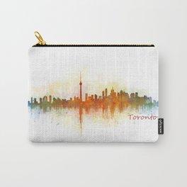 Toronto Canada City Skyline Hq v03 Carry-All Pouch