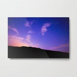 Sun Rise Sky Metal Print