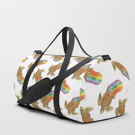 turtle rainbow Duffle Bag