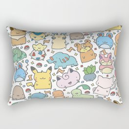 Kawaii Pokémon Rectangular Pillow