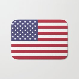 National flag of the USA - Authentic G-spec scale & colors Bath Mat