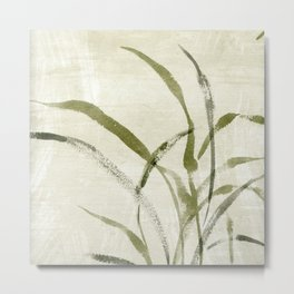 beach weeds Metal Print