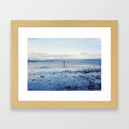 Untitled (Bellingham Bay Winter) Framed Art Print
