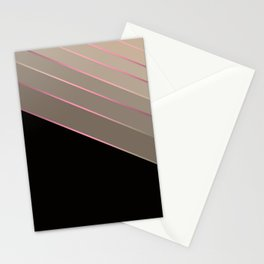 Victoria 2 #black and brown Stationery Cards