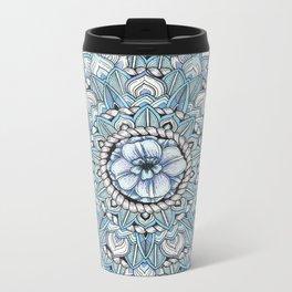 Mandala: Tropics Intertwined Metal Travel Mug