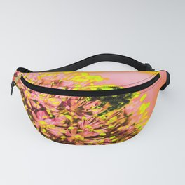 Allium with Bee Fanny Pack