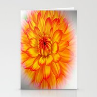dahlia Stationery Cards featuring Dahlia by Art-Motiva