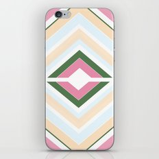 Mod stripes in Sorbet iPhone & iPod Skin
