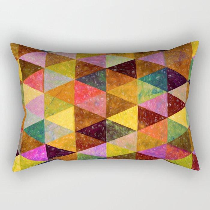 Abstract #370 Rectangular Pillow
