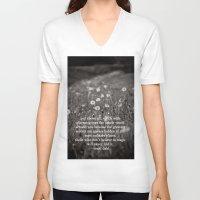 roald dahl V-neck T-shirts featuring roald dahl's magic by lissalaine