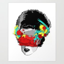 The Bride Infected Art Print