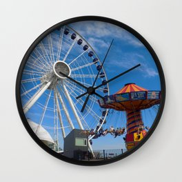 Festival View Wall Clock