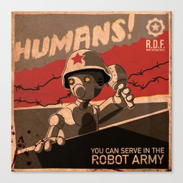 Propaganda Series 6 Canvas Print