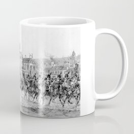 Napoleon I Reviewing His Troops Coffee Mug