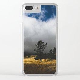 Meadow Glow Clear iPhone Case