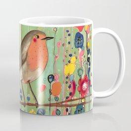 je ne suis pas qu'un oiseau revisited Coffee Mug
