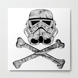 Skulltrooper Metal Print