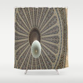 Dome Ceiling Shower Curtain