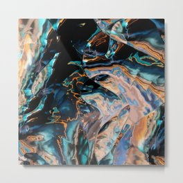 Catch that electric eel Metal Print