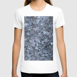 Blue Pearl Granite #1 #decor #stone #art #society6 T-shirt