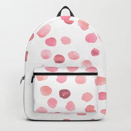 Pink Polka Dots Backpack