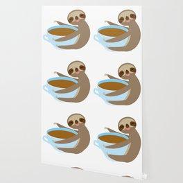sloth & coffee 2 Wallpaper