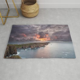 Tory Island sunset | Ireland Rug