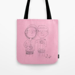 a nice hot cup of ovaltine Tote Bag