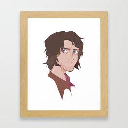 Professor Framed Art Print