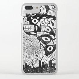 Huēyimichin Clear iPhone Case