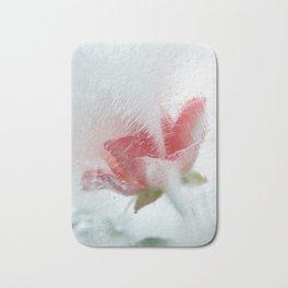 Ice cold rose Bath Mat