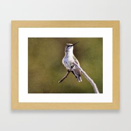 Hummer in Trouble Framed Art Print