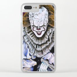 IT Clown Clear iPhone Case