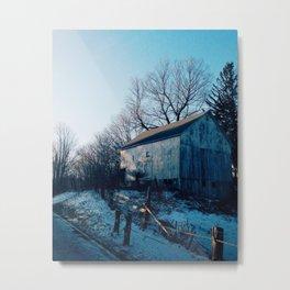 Washington Barn Metal Print