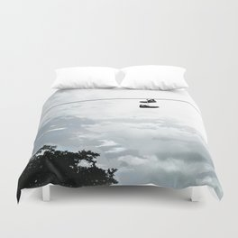 Chucks on a Wire Duvet Cover