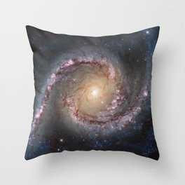 Intermediate Spiral Galaxy NGC 1566 Throw Pillow